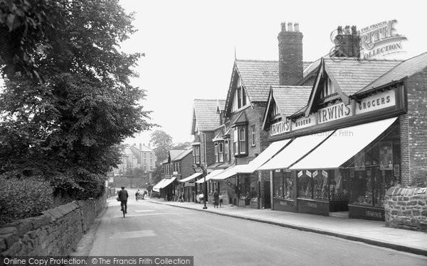 Photo of Bebington, the Village 1936