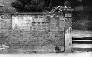 "Bebington, The ""Writing On The Wall"" 1936"