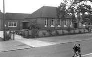 Bebington, Town Lane School c.1960