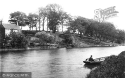 Beccles, Boaters Hill On The Waveney 1894
