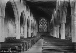 Church Interior 1894, Beccles
