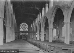 Church Interior 1923, Beccles