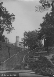 Church Steps 1923, Beccles
