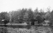Beccles, Dunburgh Boat House 1900