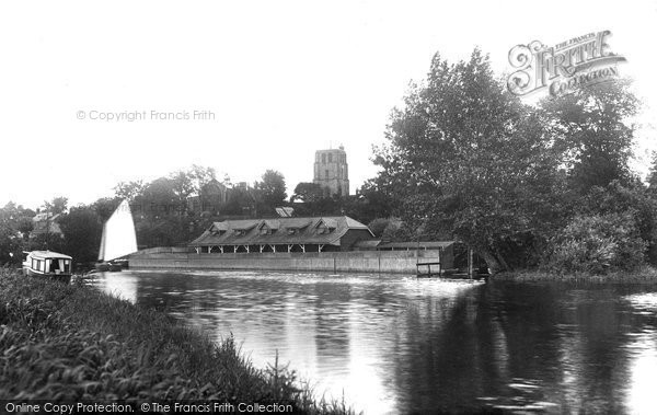 Beccles, From River Waveney 1923