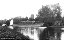 From River Waveney 1923, Beccles