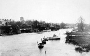 Beccles, From River Waveney c.1910