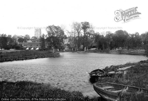 Beccles, From The Waveney 1894