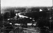 Beccles, General View Of River Waveney c.1910