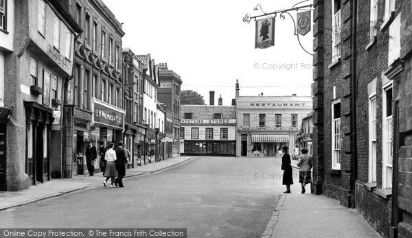 Photo of Beccles, High Street c.1960