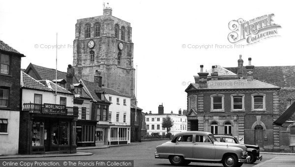 Photo of Beccles, New Market c.1955