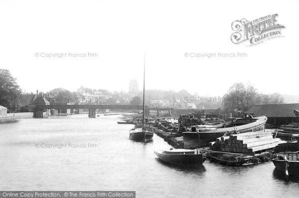 Beccles, River Bridge 1894
