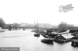 Beccles, River Bridge 1894