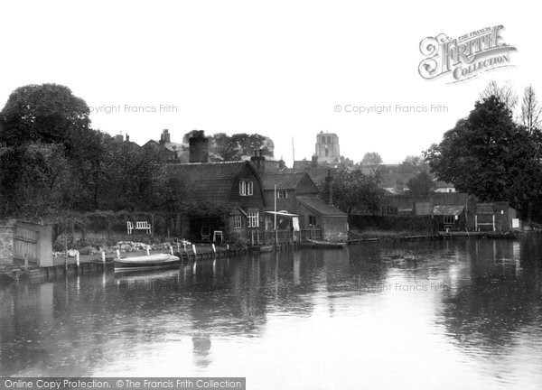 Photo of Beccles, River Waveney c1930