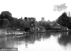 River Waveney c.1930, Beccles