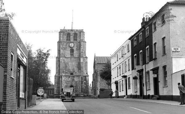 Beccles, Saltgate c.1955