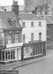 Shops, The Walk c.1955, Beccles