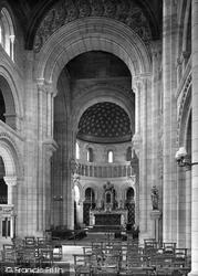 St Benet's R.C Church Interior 1923, Beccles
