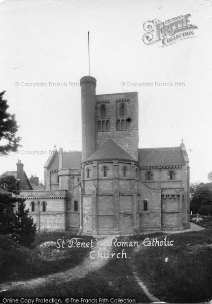 Beccles, St Benet's Roman Catholic Church c.1930
