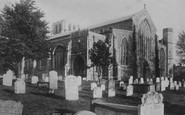 Beccles, St Michael's Church From The North West 1894