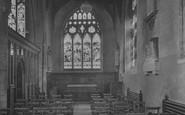 Beccles, St Michael's Church Memorial Chapel 1923