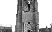 Beccles, St Michael's Church Tower 1900