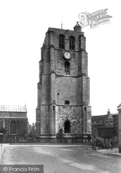 St Michael's Church Tower 1900, Beccles