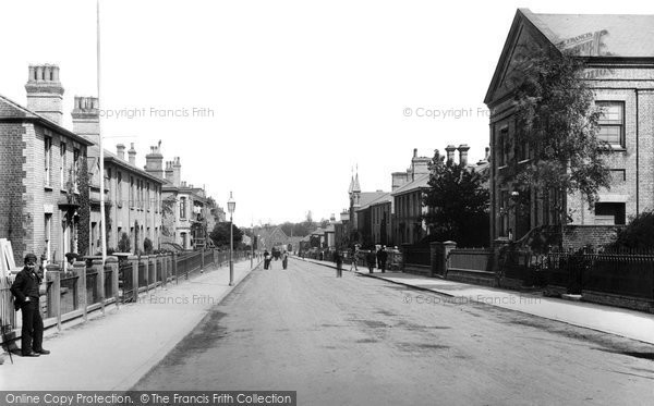 Beccles, Station Road 1894
