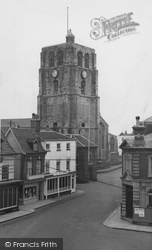 Beccles, The Church Tower c.1955