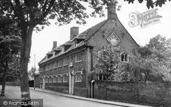 The Old Building, Sir John Leman School c.1955, Beccles
