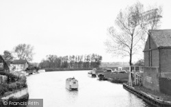 The River From The Bridge c.1955, Beccles