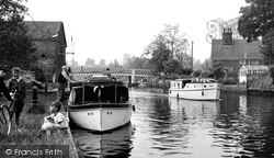 The River Waveney c.1960, Beccles