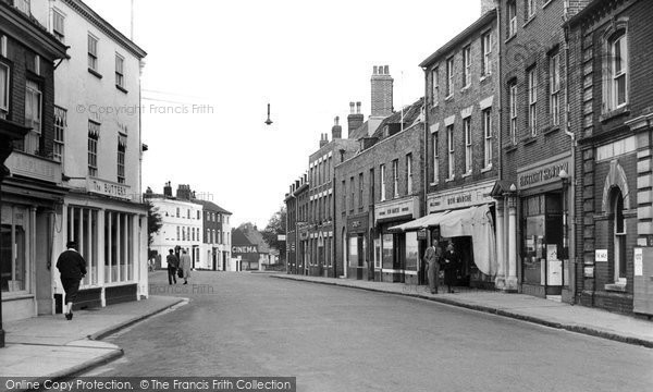 Photo of Beccles, the Walk c1960