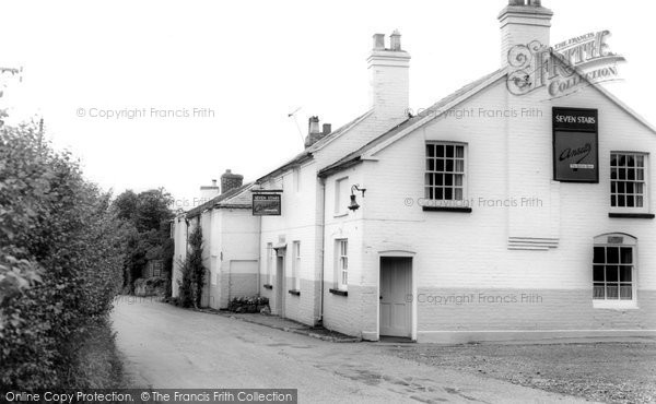 Beckbury, The Seven Stars Inn c.1960