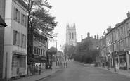 Beckenham, Church Hil And St George's Church 1948