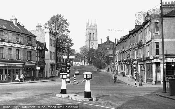 Beckenham, Church Hill 1948