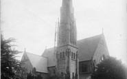 Beckenham, Congregational Church 1899