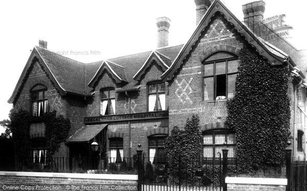 Beckenham, Cottage Hospital 1899