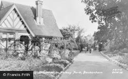 Beckenham, Entrance To Kelsey Park c.1965