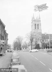 Beckenham, High Street And St George's 1967