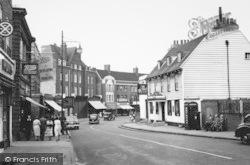 Beckenham, High Street And The George Inn c.1960