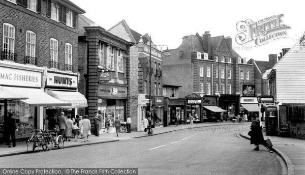 Beckenham, High Street c.1960