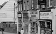 Beckenham, High Street Shops 1967