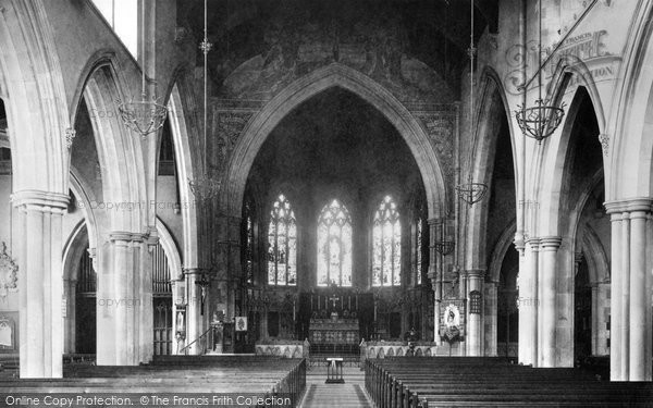 Beckenham, Parish Church Choir 1899