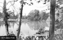 Beckenham, The Lake, Kelsey Park c.1948