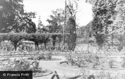 Beckenham, The Rose Garden, Kelsey Park c.1950