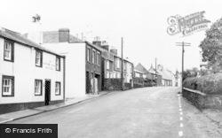 Beckermet, The Royal Oak And Main Street c.1955