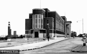 Becontree Heath, Civic Centre c1950