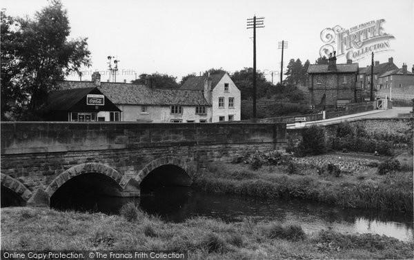Bedale, Bedale Bridge c.1960