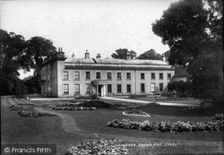 Bedale, Bedale Hall 1902